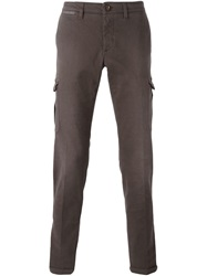 Eleventy Chino Cargo Trousers Brown