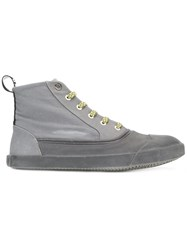 Lanvin High Top Sneakers Grey