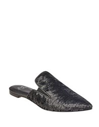 Marc Fisher Shiloh Sequin Mules Black