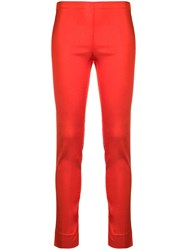 P.A.R.O.S.H. High Waisted Trousers Red