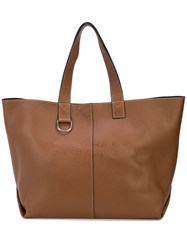 Barbara Bui Reversible Tote Bag Brown