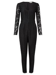 Alice By Temperley Somerset By Alice Temperley Lace Jumpsuit Black