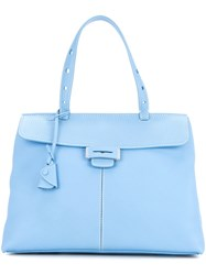 Myriam Schaefer Baby Lord Shoulder Bag Blue