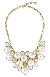 Ted Baker Women's London Galini Imitation Pearl Cluster Necklace