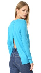 Tome Long Sleeve Sweater Turquoise