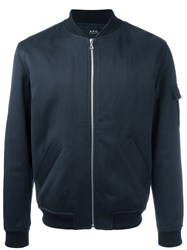 A.P.C. Bomber Jacket Blue