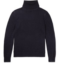 Massimo Alba Maimo Cahmere Rollneck Weater Navy