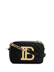Balmain Quilted B Camera Bag Black