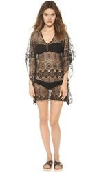 9Seed La Quinta Lace Cover Up Black