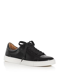 Frye Ivy Lace Up Sneakers Black