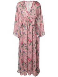 Anjuna Renata Floral Dress Pink