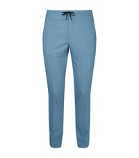 Sandro Tailored Trousers Blue