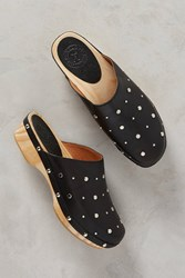 Anthropologie Penelope Chilvers Studded Clogs Black