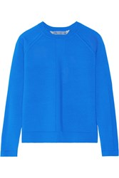 Reed Krakoff Cashmere Wool And Silk Blend Sweater Blue