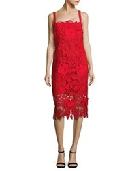 Nanette Lepore Yacht Party Shift Dress Cherry Red