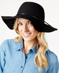 Inc International Concepts Melton Floppy Hat Only At Macy's Black