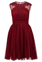 Little Mistress Cocktail Dress Party Dress Maroon Red