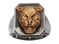 Stephen Webster Beasts Of London Panther Ring Rose Gold Sterling Silver