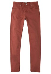 Mango Alexx Slim Fit Jeans Burnt Orange