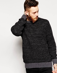 Soulland Jumper In Heavy Knit Black