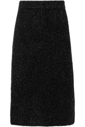 Calvin Klein Collection Lurex Midi Skirt Black