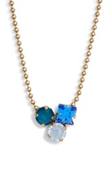 Loren Hope Harlow Cluster Crystal Necklace