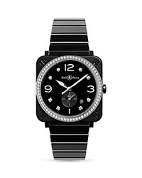 Bell And Ross Br S Black Ceramic Diamond Watch 39Mm
