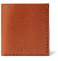 Shinola Leather Billfold Wallet Brown