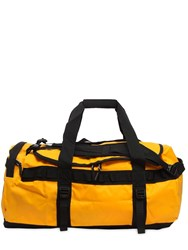 The North Face 71L Base Camp Duffle Bag Yellow