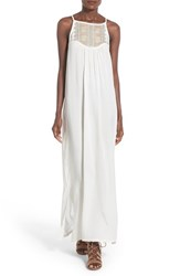 Women's Love Squared Embroidered Maxi Dress