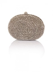 Chi Chi London Azure Clutch Bag Grey