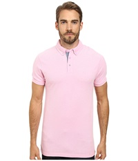 Moods Of Norway Per Are Piquet Short Sleeve Shirt 151268 Medium Pink Men's Short Sleeve Pullover
