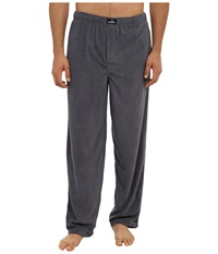 Jockey Microplush Knit Pants Solid Grey Men's Pajama Gray