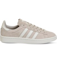 Adidas Campus Suede Trainers Clear Brown White