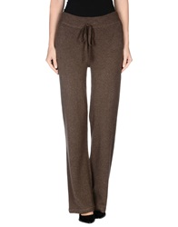 Alpha Massimo Rebecchi Casual Pants Dark Brown