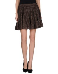 Joseph Skirts Mini Skirts Women Cocoa