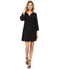 Jessica Simpson Sold Shift With Keyhole Front Black Women's Dress