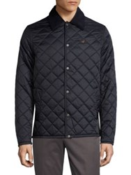 Barbour Long Sleeve Quilted Jacket Navy