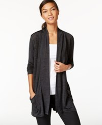 Calvin Klein Jeans Open Front Heathered Cardigan