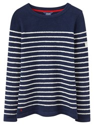 Joules Seaham Chenille Jumper Navy