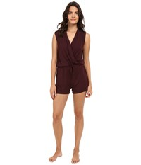 Ugg Kami Lounge Romper Black Cherry Women's Jumpsuit And Rompers One Piece Burgundy