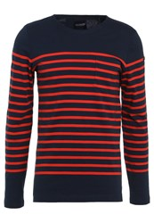Scotch And Soda Long Sleeved Top Combo Dark Blue