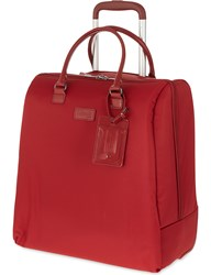 Lipault Lady Plume Rolling Tote 42.5Cm Red