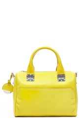 Hayden Harnett 'Sandrine' Satchel Yellow Lemon