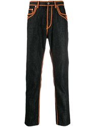 Just Cavalli Contrast Stitch Jeans Black