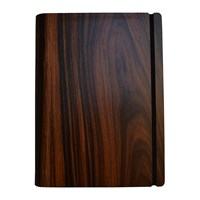 Bark And Rock Santos Rosewood Crown Wooden Notebook Pocket 15.5X19cm