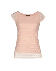 Giorgia And Johns Blouses Light Pink