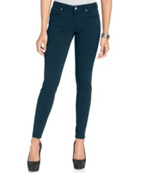Styleandco. S And Co. Low Rise Skinny Jegging Slate Blue