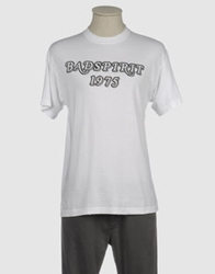 Bad Spirit Short Sleeve T Shirts White