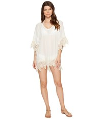 L Space Native Springs Tunic Cover Up Ivory Women's Swimwear White